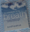 The Wisdom of the Breath - Bodhipaksa - AudioBook CD